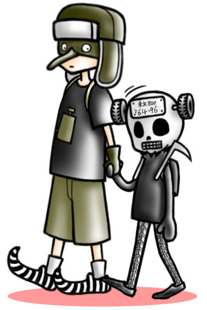 カテゴリー: イラスト, ドロヘドロ, 漫画 |  パラノイア ケイジ